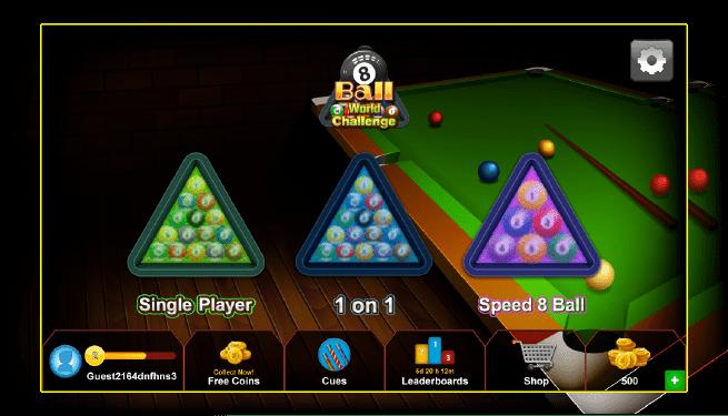 8 ball world challenge