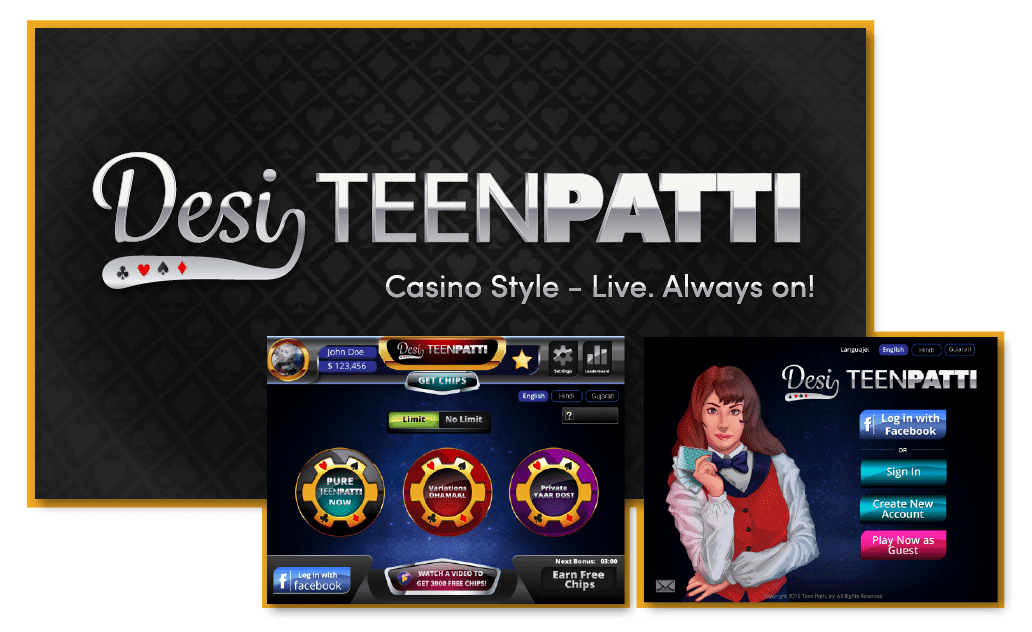 Desi teen patti - Yudiz