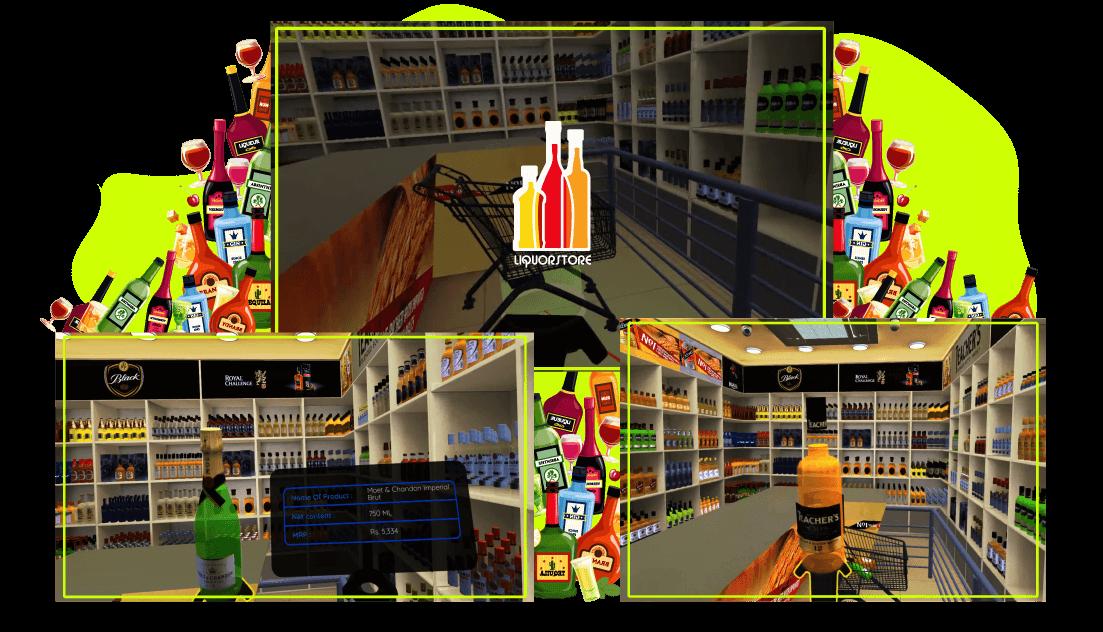 liquor store - yudiz