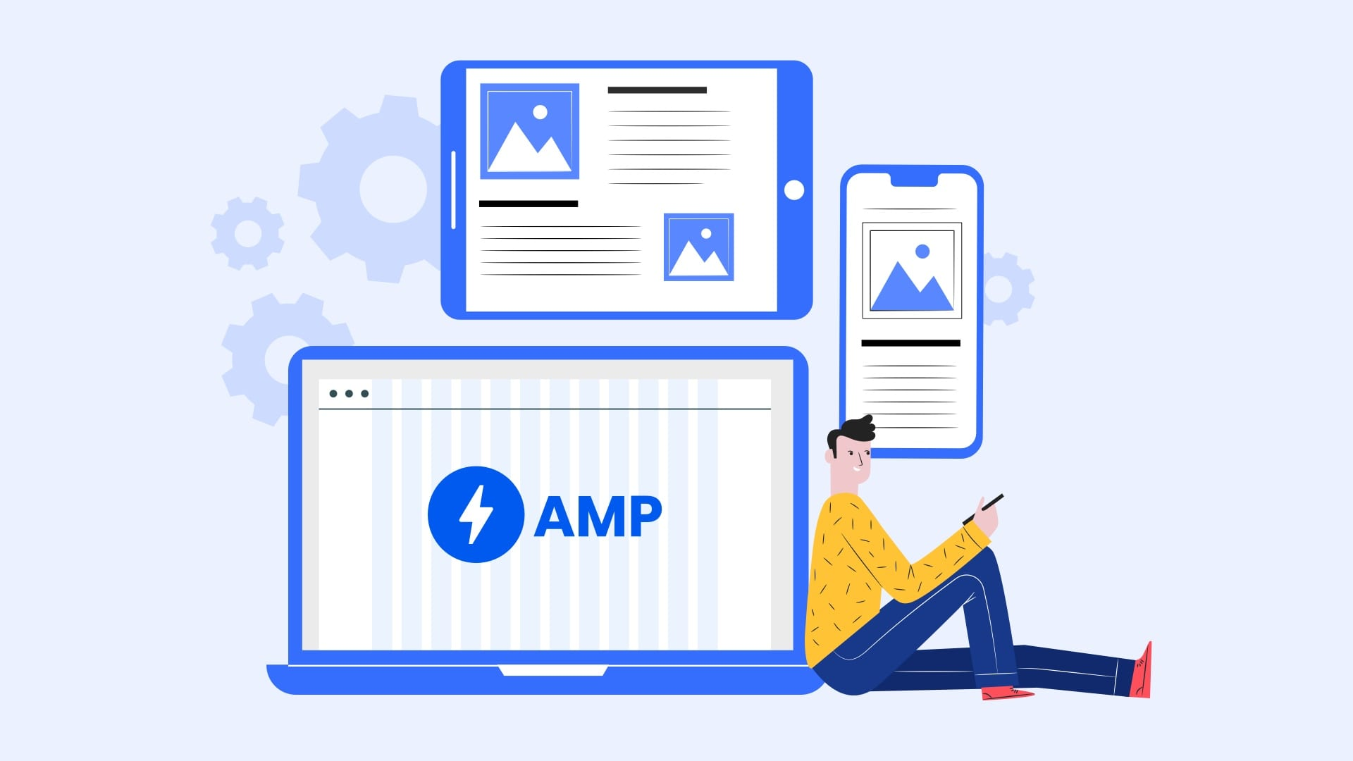 How to add bootstrap grid in AMP?
