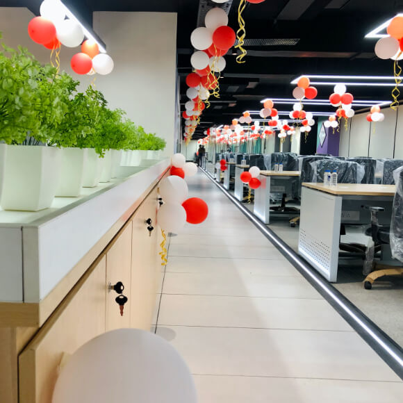 Yudiz Office Work Space