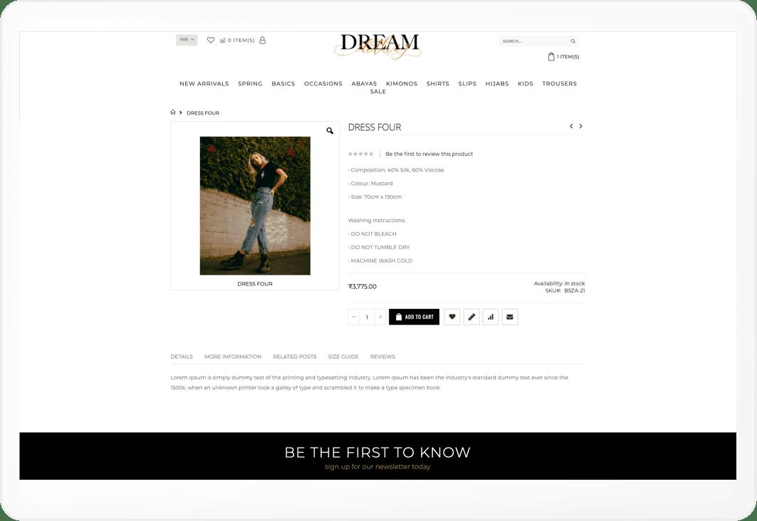 Dream screen 1