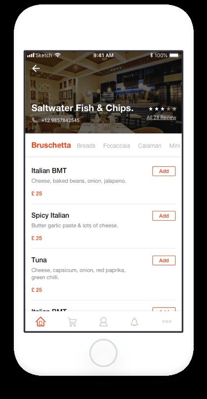 foodista screen